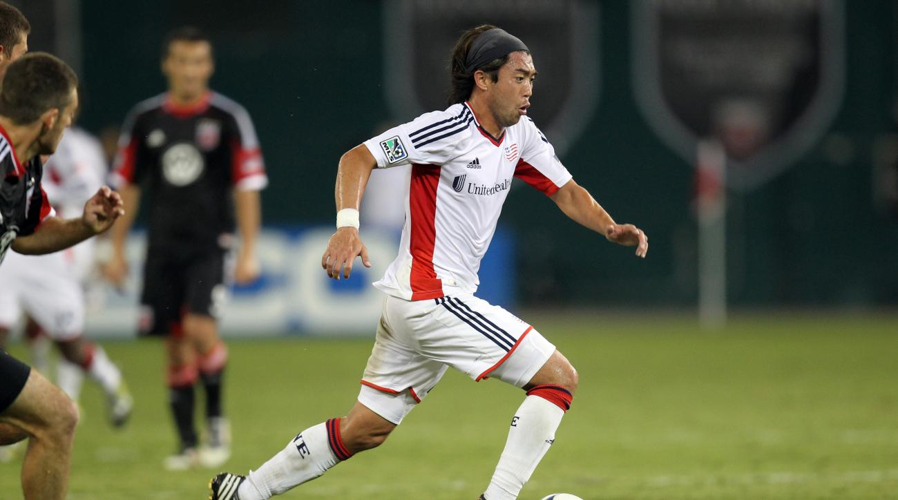 Lee Nguyen New England Revolution mls second half schedule fixtures