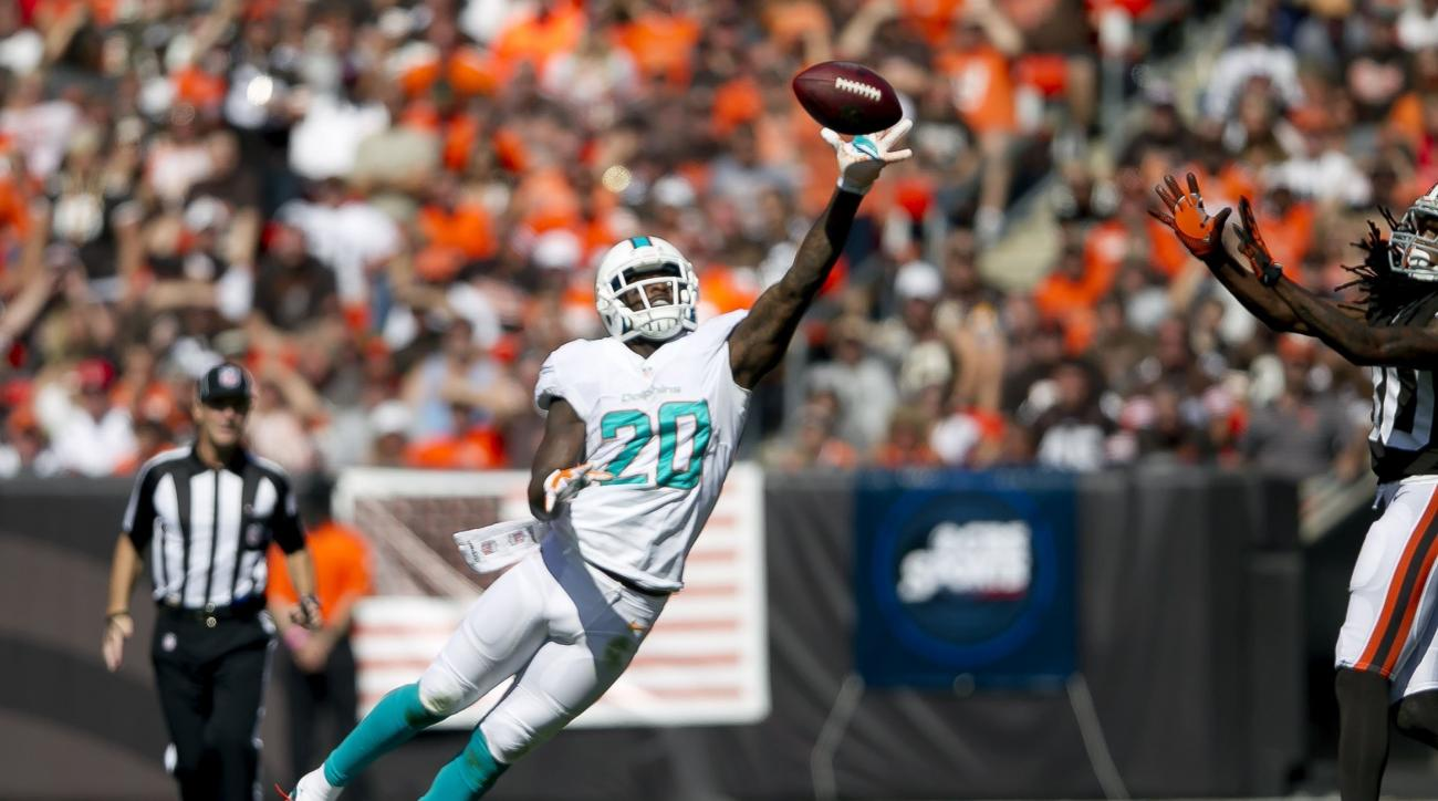 Reshad Jones was suspended four games for a PED violation.