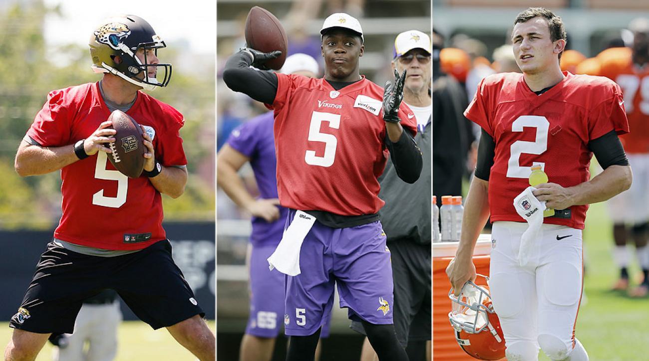 Rookie quarterbacks Blake Bortles, Teddy Bridgewater and Johnny Manziel