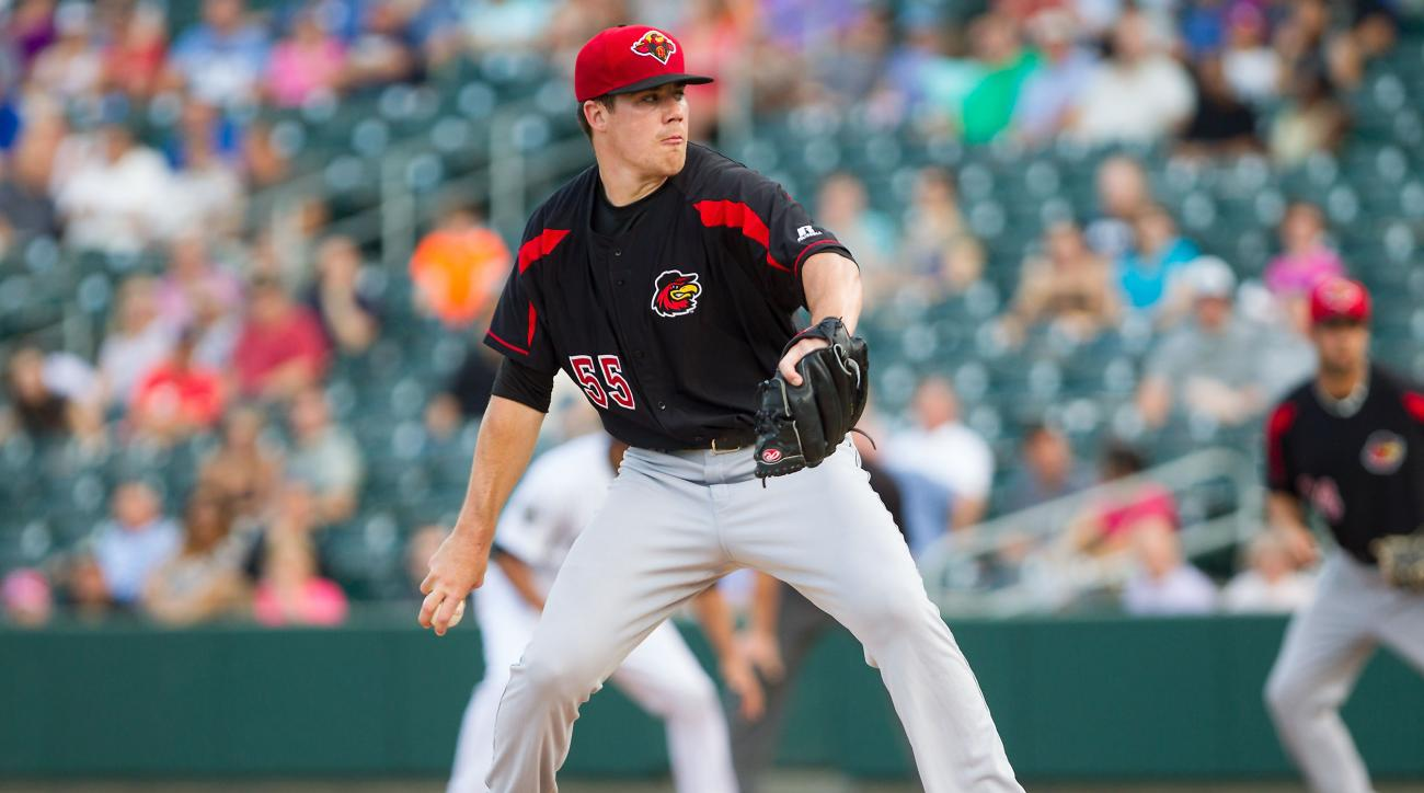 Trevor May, the #8 prospect in the Minnesota Twins system, will make his major league debut on Saturday.