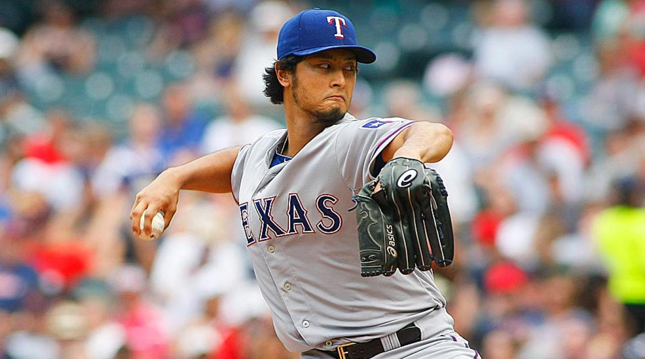 The Rangers' Yu Darvish has allowed just six runs in his last 25 innings. Expect that type of dominance to continue vs. the Astros.