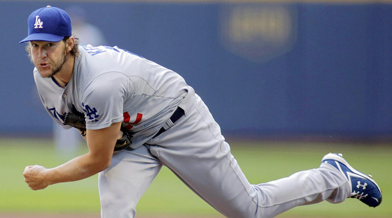 Clayton Kershaw helped his own cause on Sunday, as his steller defensive effort helped the Dodgers maintain the lead over the Brewers.