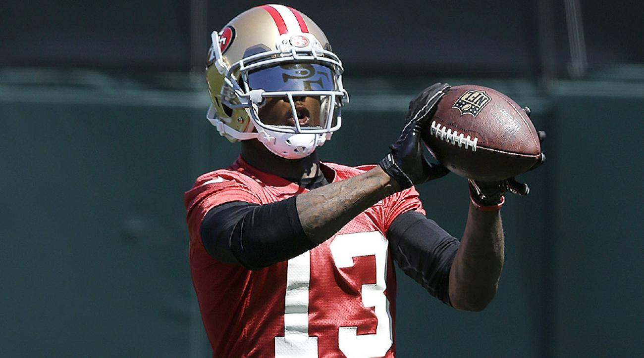 The Buffalo Bills traded Stevie Johnson to the San Francisco 49ers, which left the former Pro-Bowl receiver to settle in with a new team and lesser role.