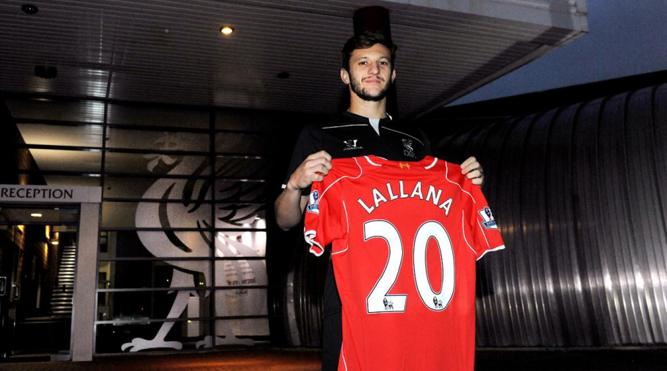 Adam Lallana Liverpool