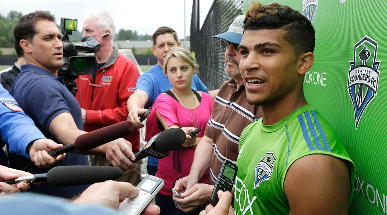 Seattle Sounders coach Sigi Schmid said DeAndre Yedlin's move to an European club should be finalized within the next two days.