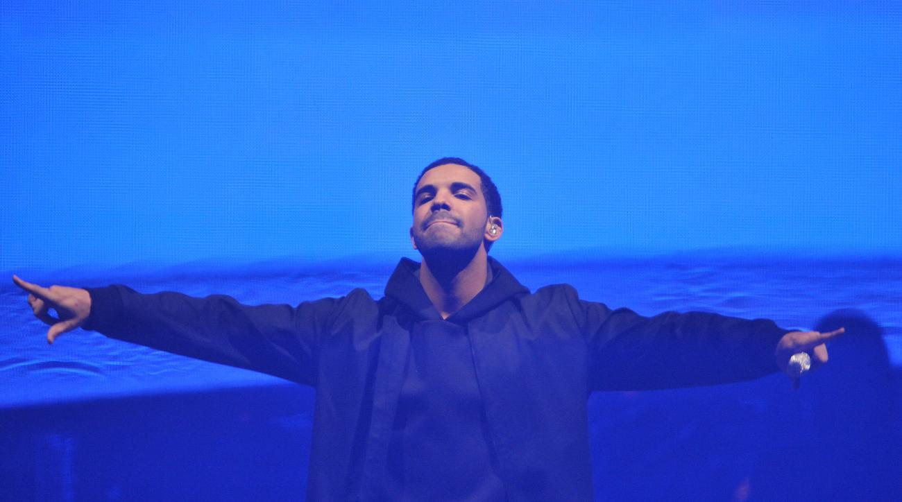 The NBA fined the Toronto Raptors $25,000 for comments Drake made at a concert.