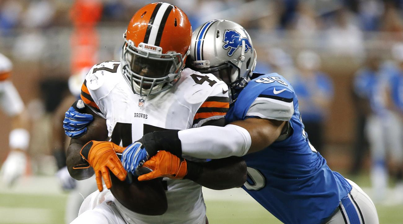 Browns TE Marqueis Gray has concussion