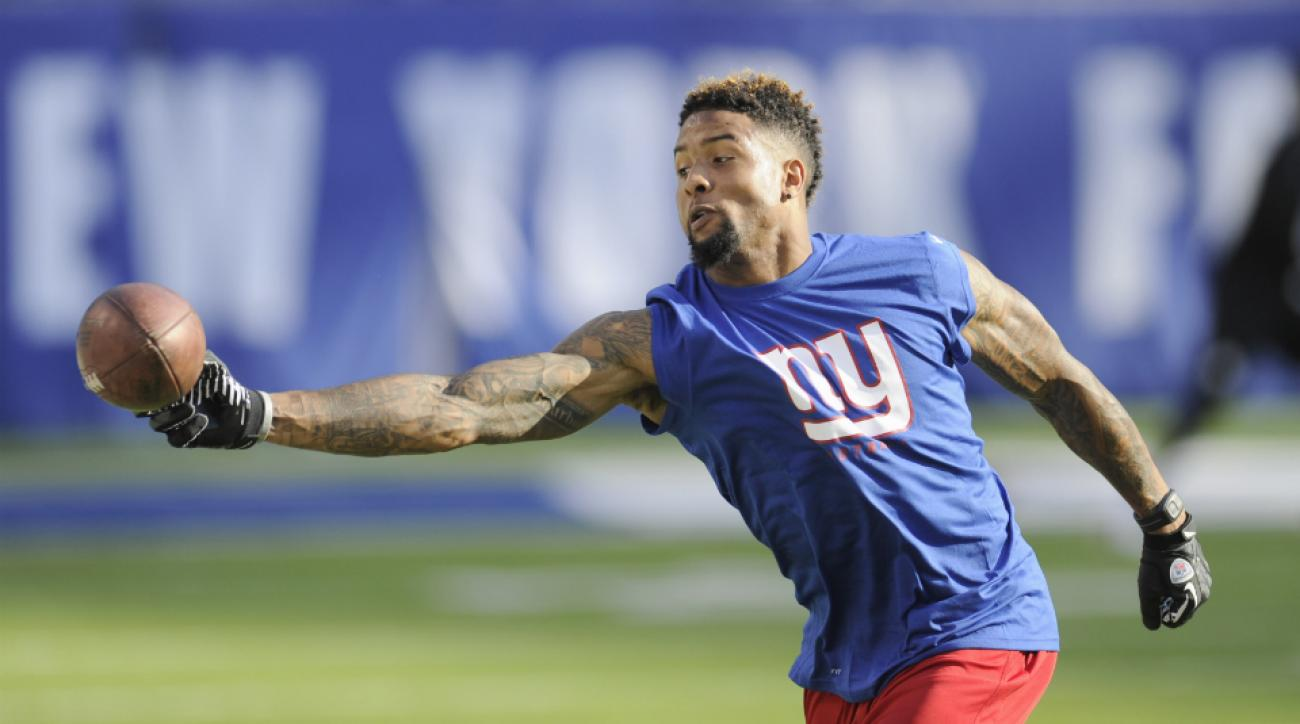 Giants receiver Odell Beckham to return to practice