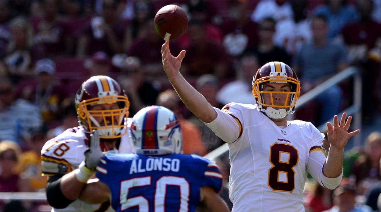 Rex Grossman is working out with the Dolphins Monday