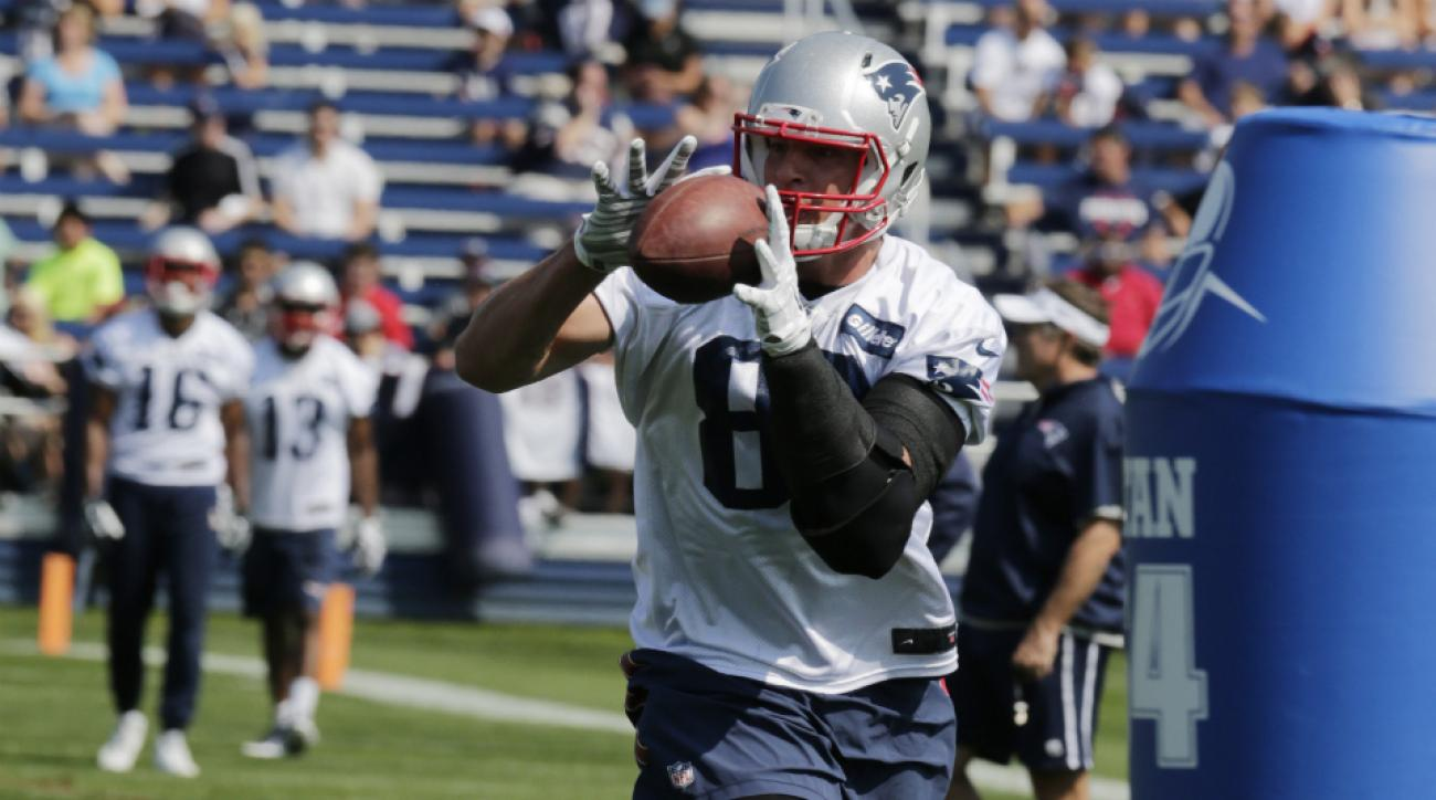 New England Patriots tight end Rob Gronkowski has no setbacks