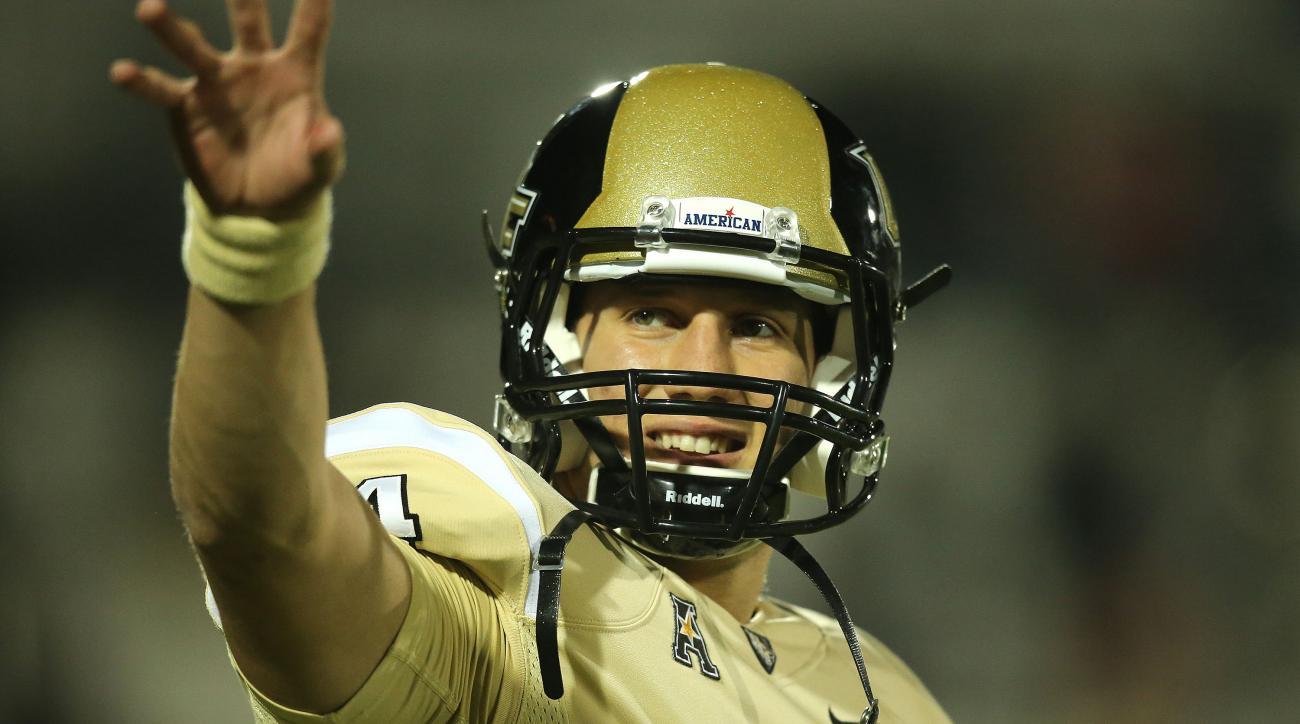 UCF quarterback Pete DiNovo starter