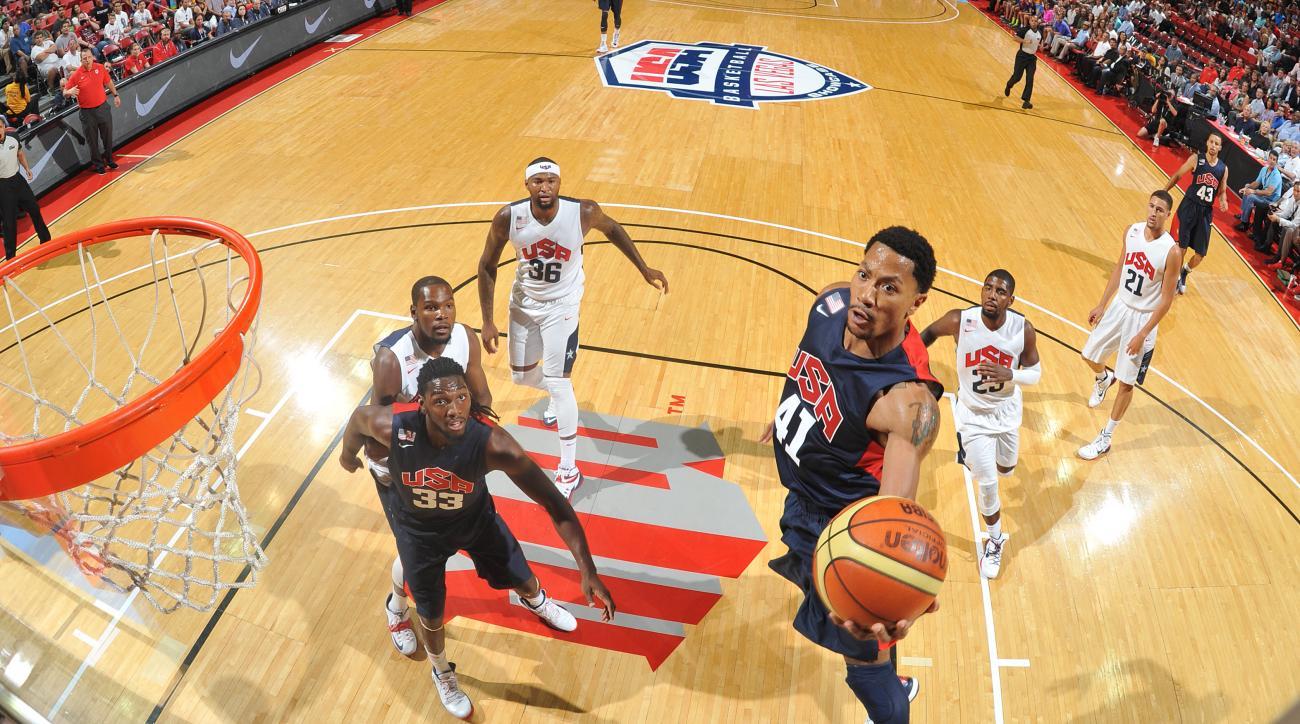 usa basketball men's derrick rose west point academy