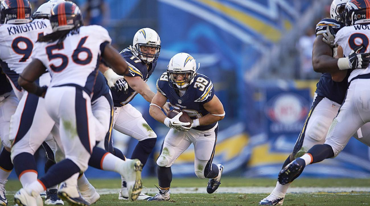 Danny Woodhead making most of time with San Diego Chargers