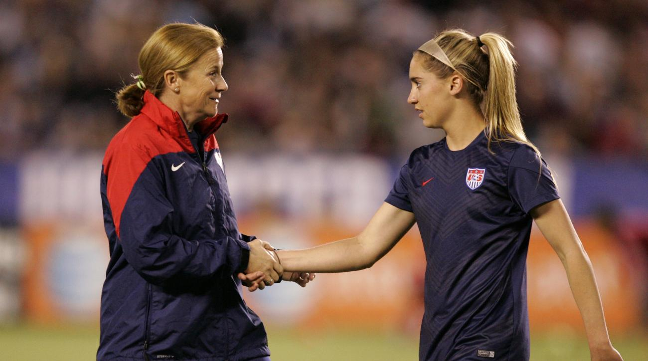 jill ellis united states women's national team roster cary north carolina