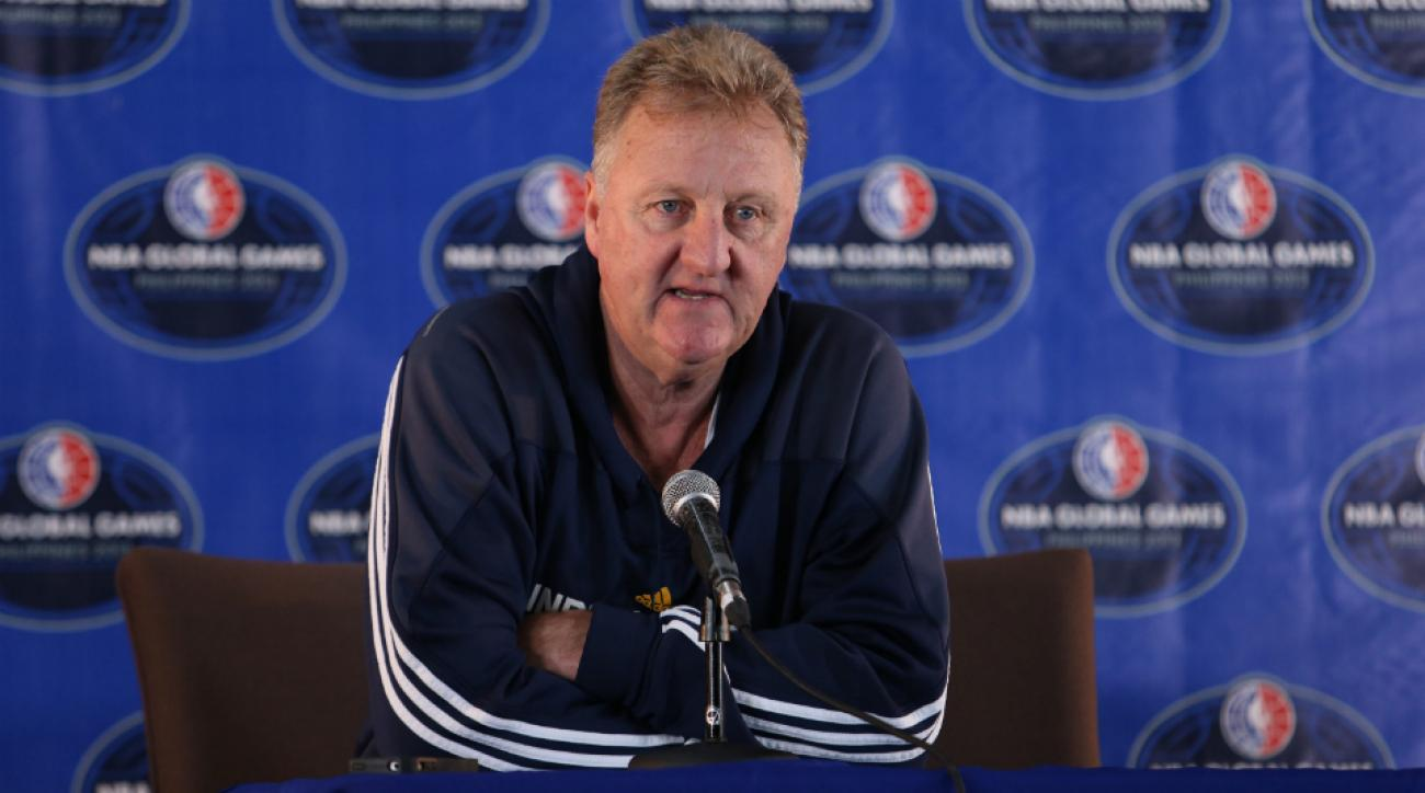 Pacers president Larry Bird said team won't go in to luxury tax