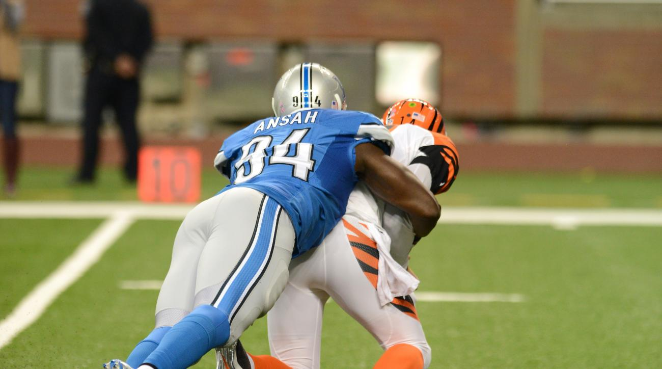 The Detroit Lions activated defensive lineman Ziggy Ansah from the PUP list.