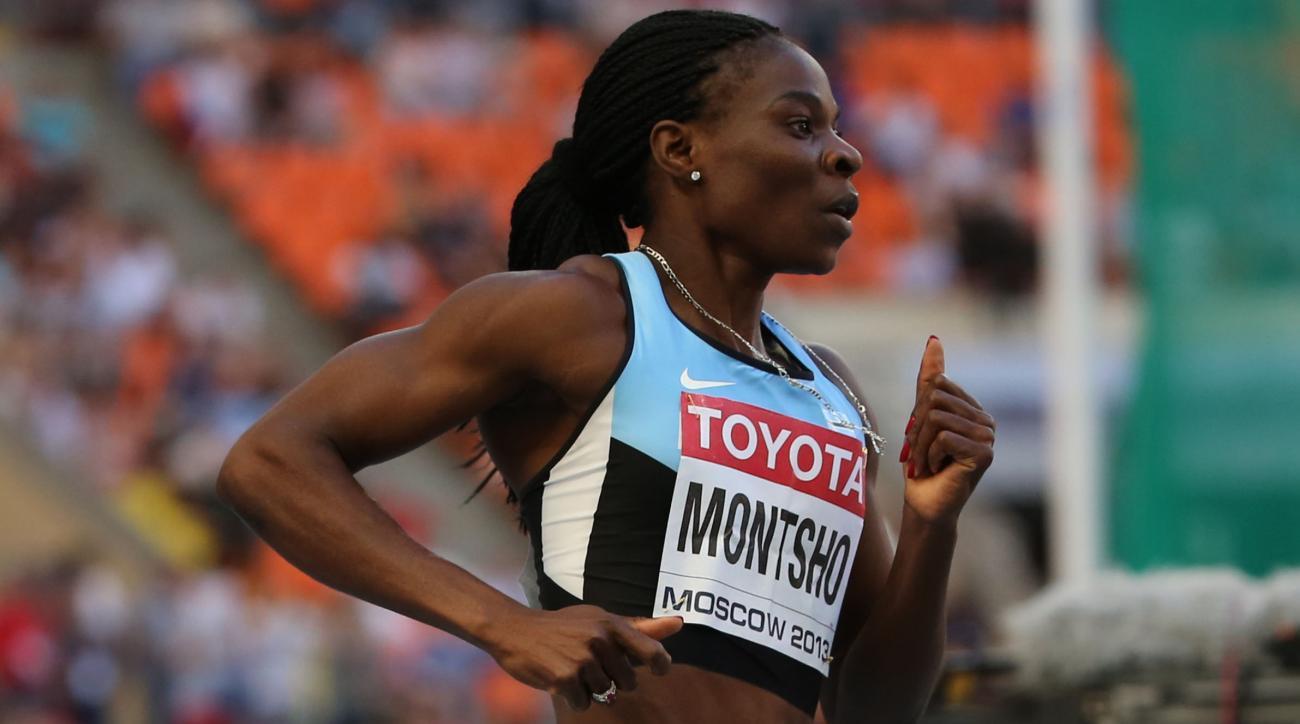 Amantle Montsho fails drug test