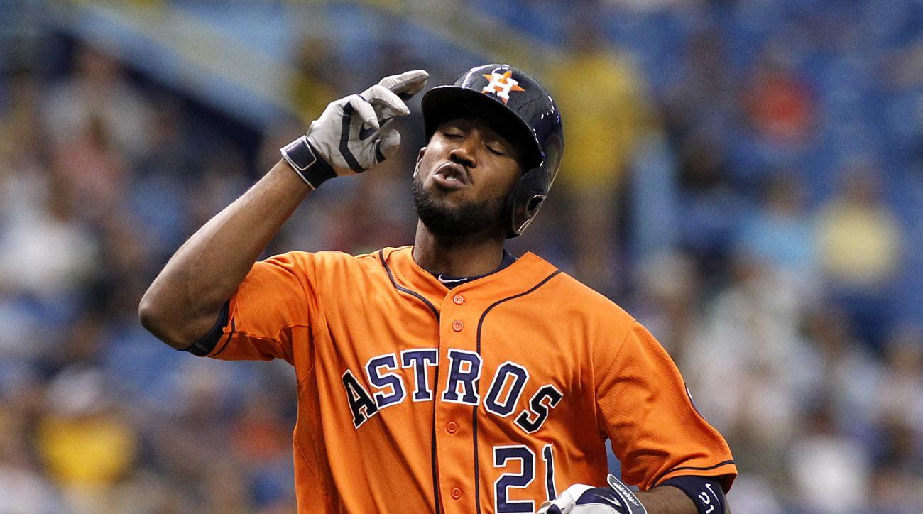 Dexter Fowler Houston Astros DL disabled list