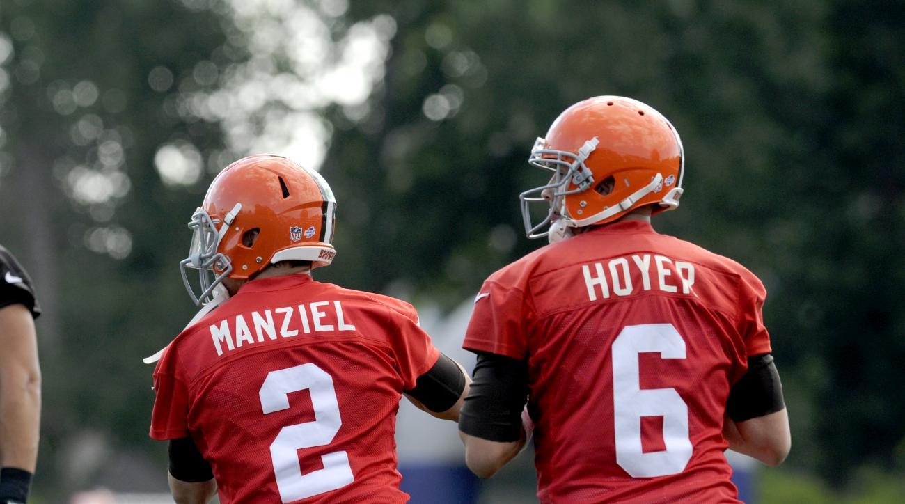 Johnny Manziel Brian Hoyer Cleveland Browns preseason Washington Redskins
