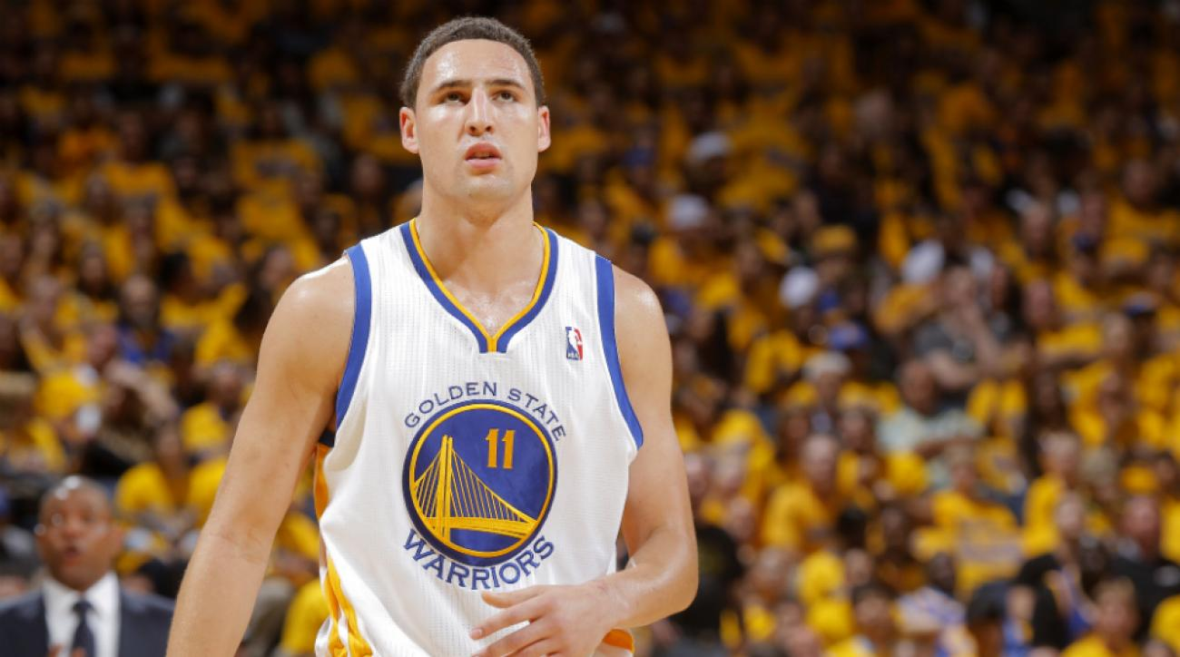 Klay Thompson happy to stay with Warriors