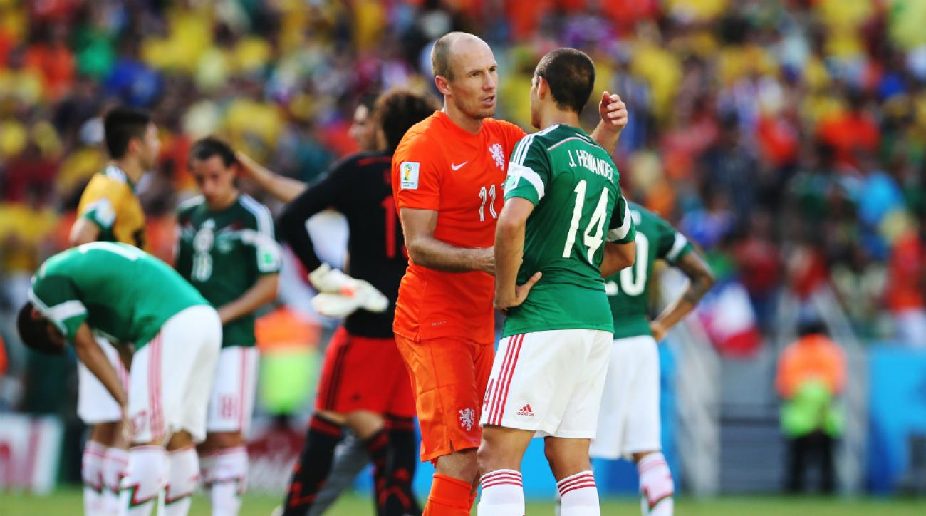 Netherlands Mexico world cup rematch
