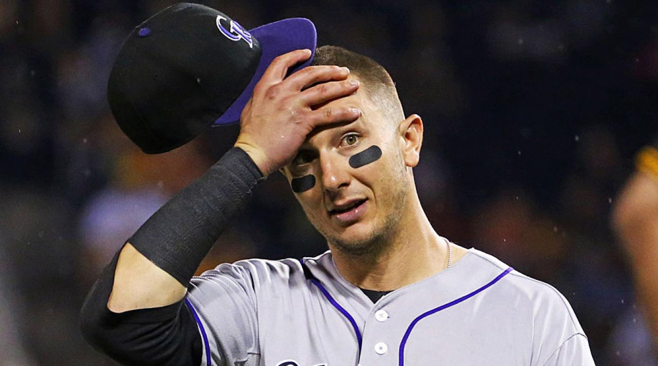 Troy Tulowtizki Colorado Rockies season-ending surgery