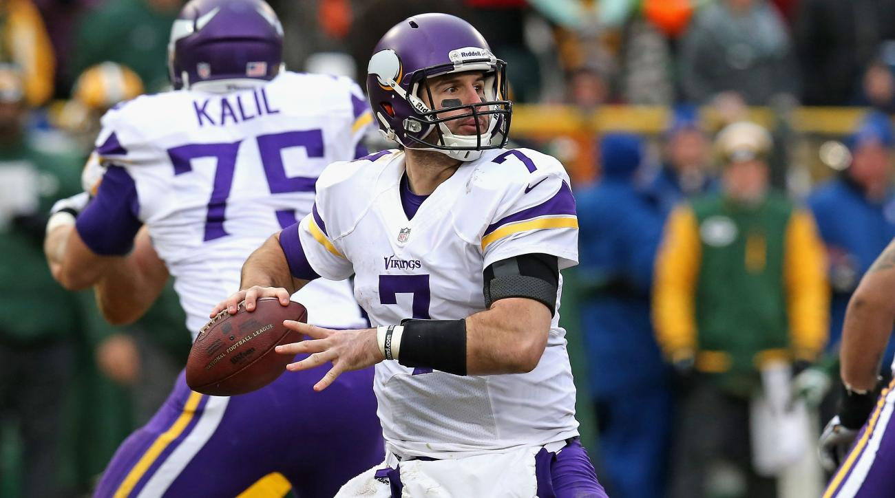 Vikings QB Christian Ponder open to trade