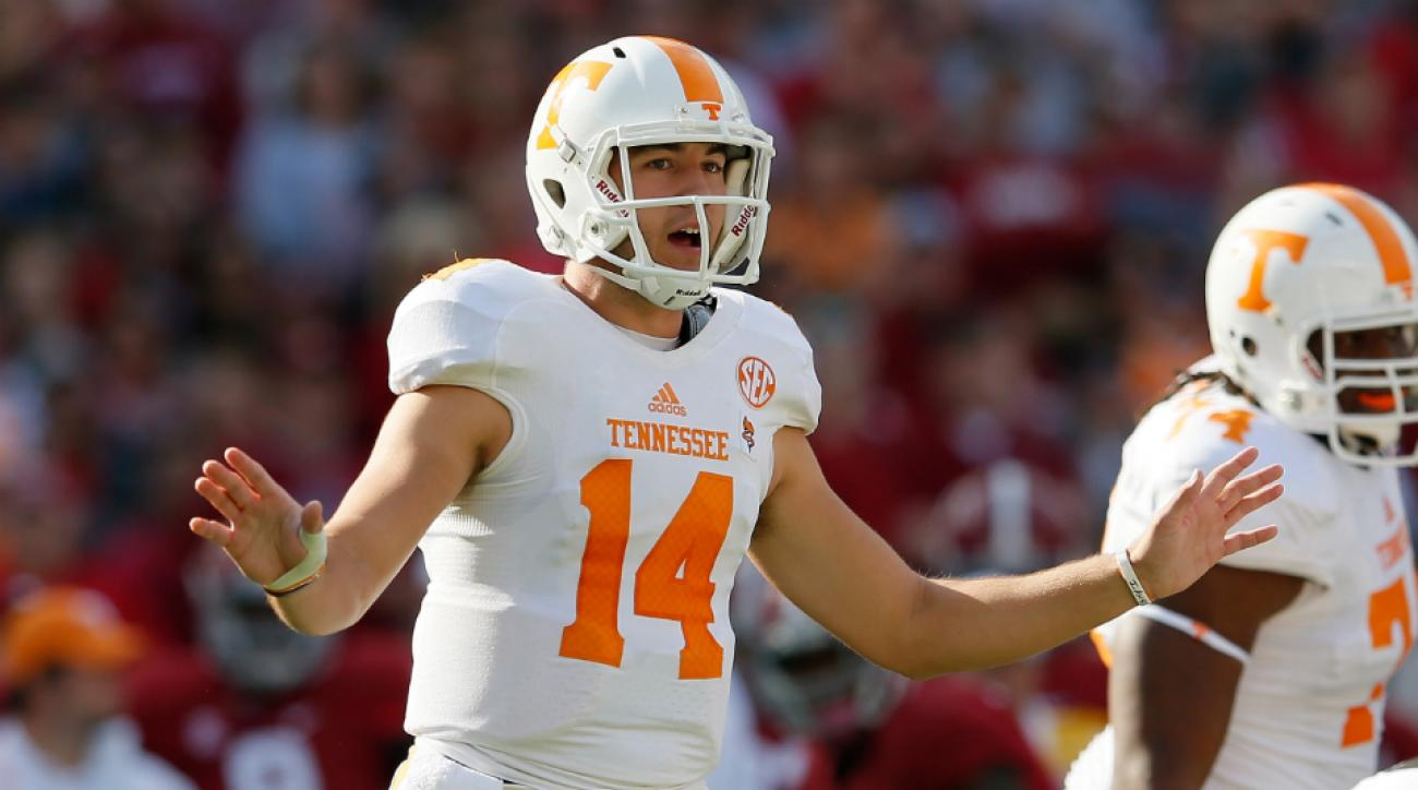 Tennessee named Justin Worley starting quarterback