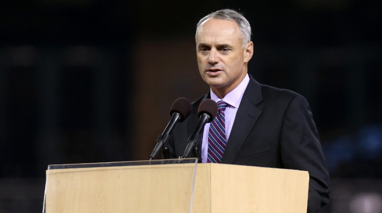Rob Manfred named MLB commissioner