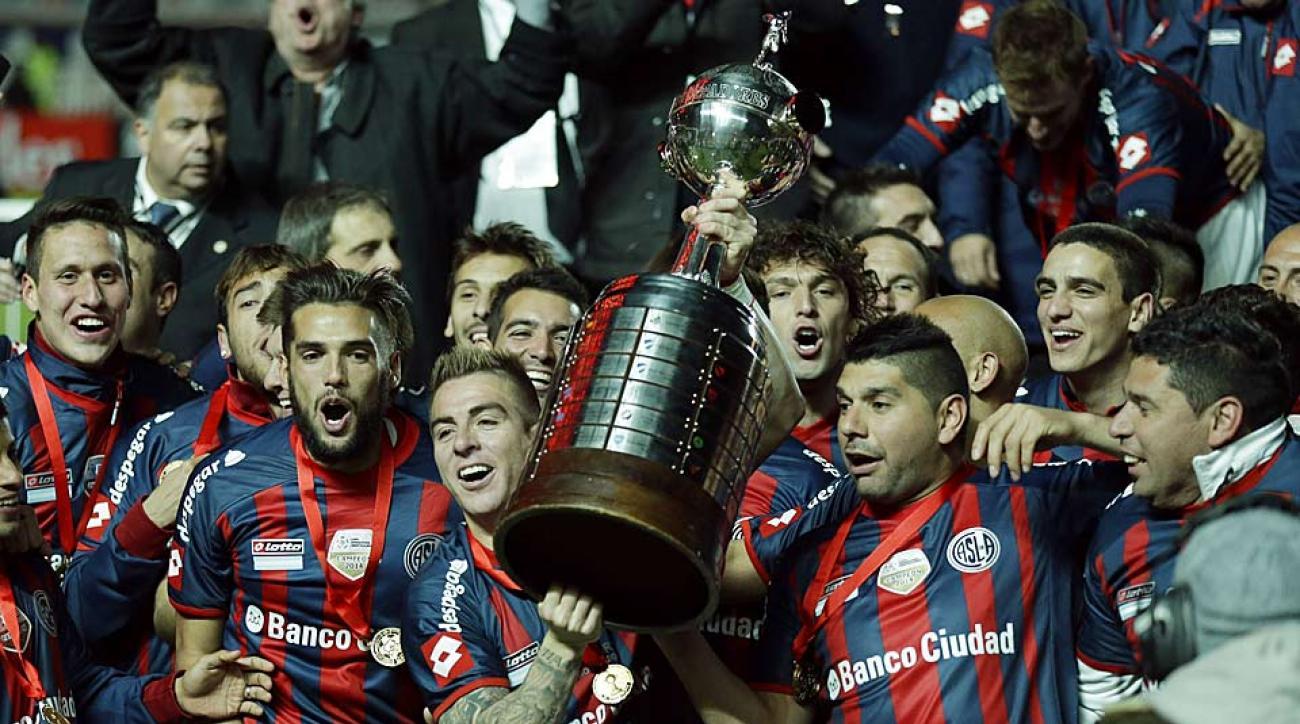 San Lorenzo vs. Nacional Copa Libertadores