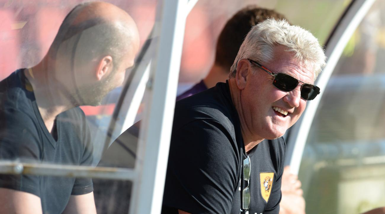 Manager Steve Bruce aims to keep Hull City in the Premier League while also tackling a Europa League challenge.