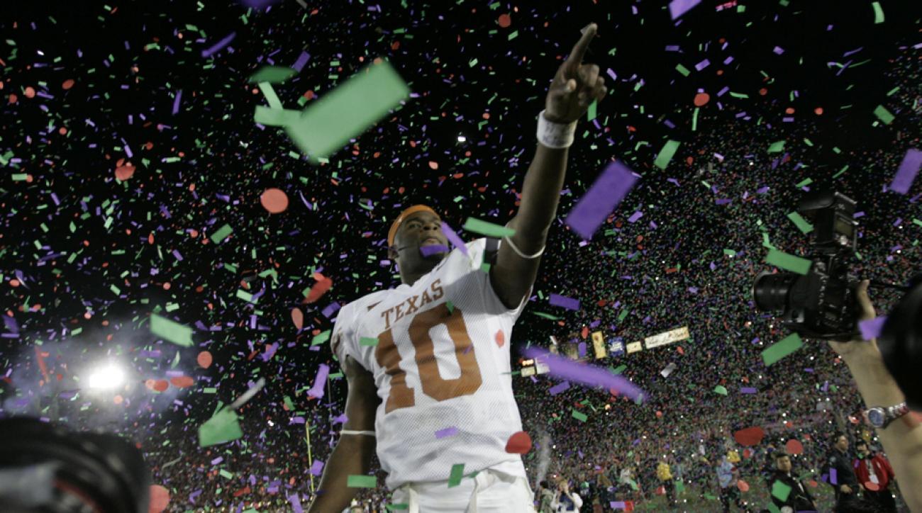 Former Texas quarterback Vince Young returns