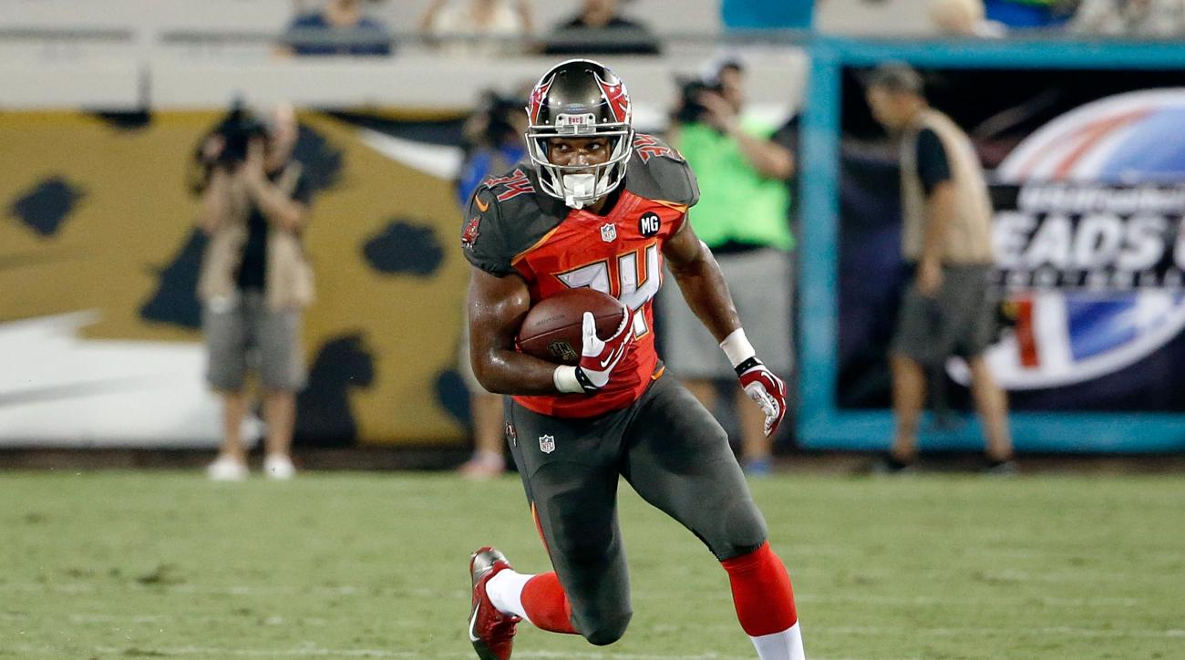 Tampa Bay Buccaneers rookie running back Charles Sims will undergo surgery and miss 12-14 weeks.