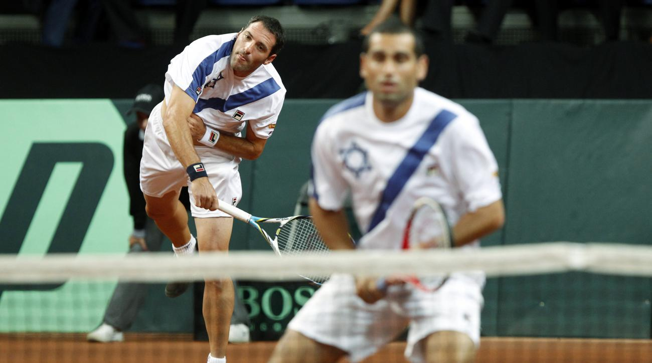 The Israel-Argentina Davis Cup tie scheduled for next month has been moved to Florida.