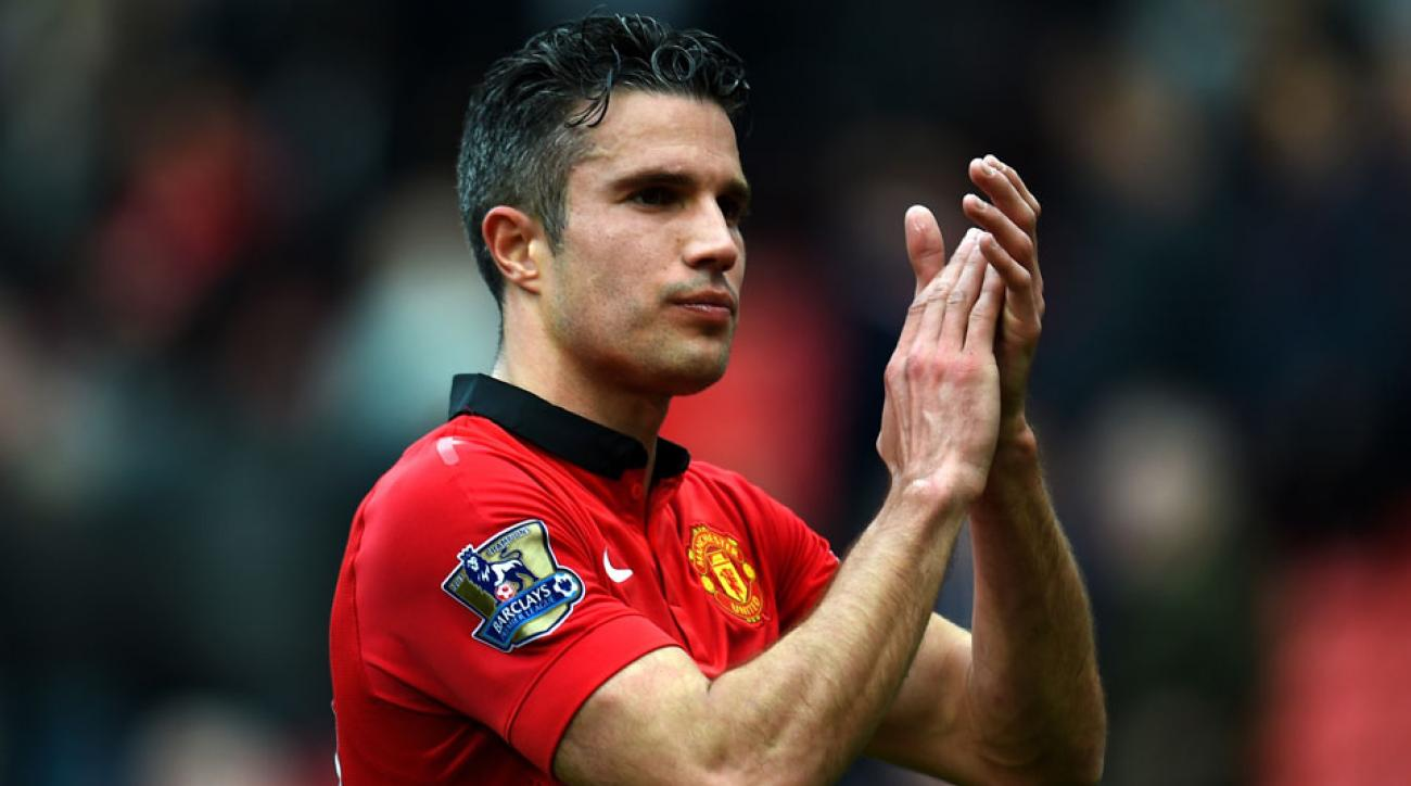 Robin van Persie will sit out Manchester United's Premier League opener