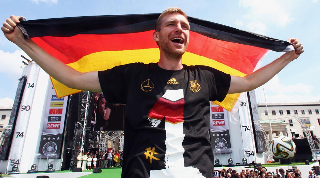 Per Mertesacker retires from German national team