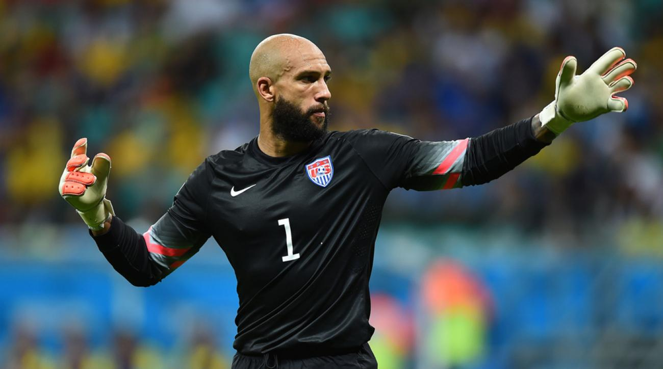 38b5e3586 American goalkeeper Tim Howard is publishing a book about his life.