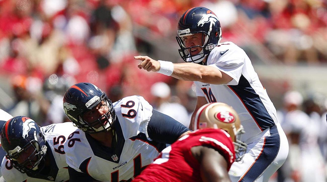 Peyton Manning picked up where he left off in 2013 with an efficient outting against the San Francisco 49ers defense.