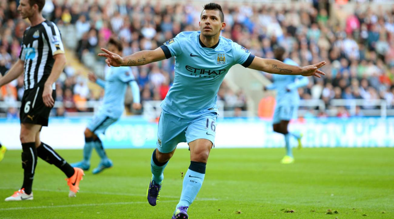 Sergio Agüero was one of a handful of World Cup players that made an impact on the opening weekend in the English Premier League.