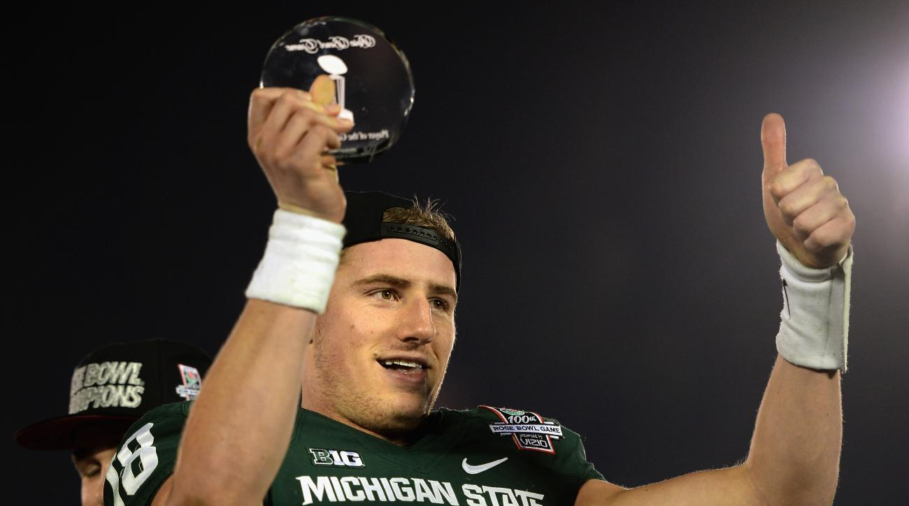 Connor Cook Michigan State Spartans football schedule