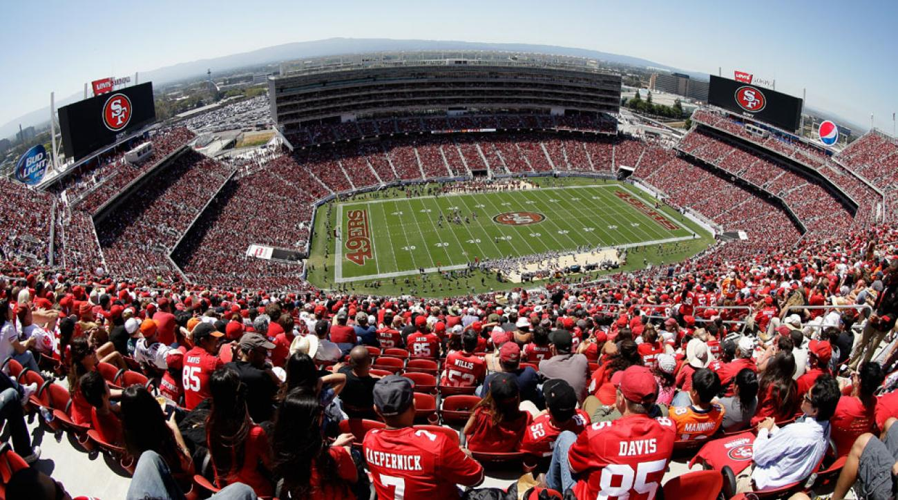 Fan suffers heart attack, dies at 49ers game
