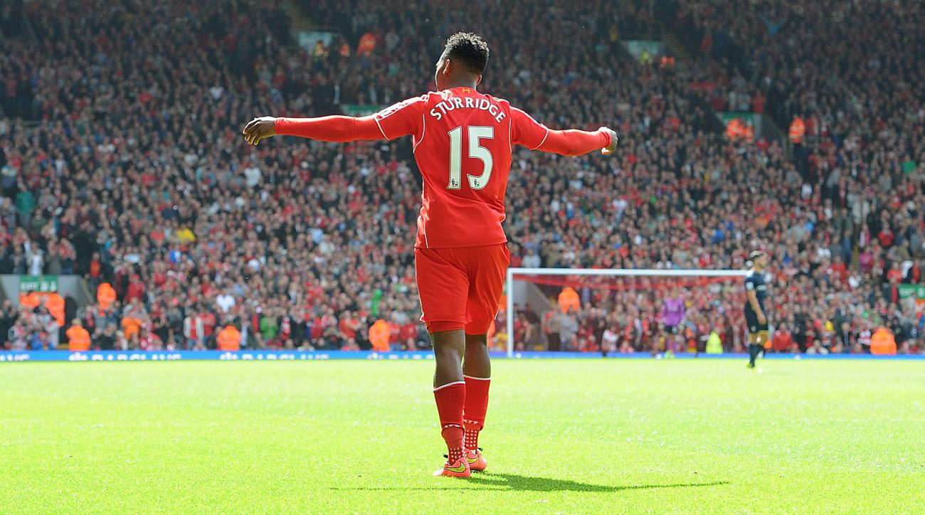 Liverpool Suarez Sturridge