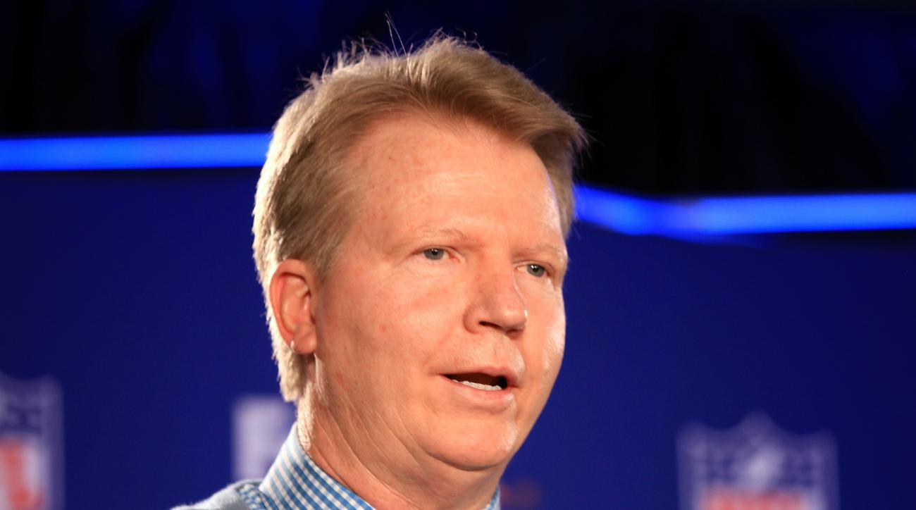 Phil Simms Washington Redskins CBS on air name