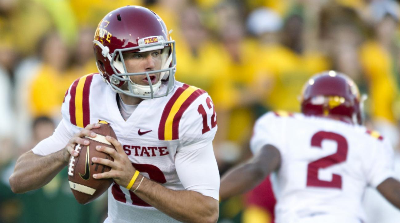 Sam Richardson named Iowa State starting quarterback