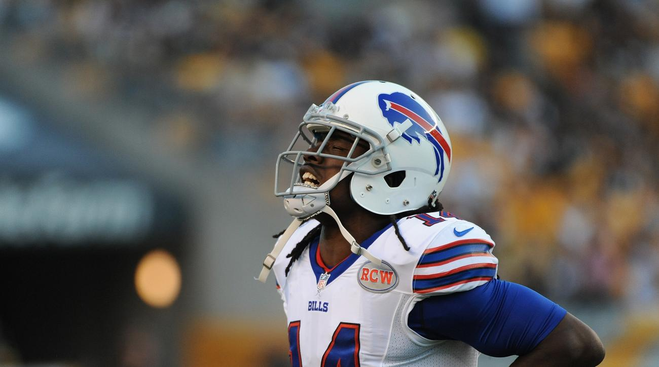 The Buffalo Bills are holding Sammy Watkins out of practice with a rib injury.