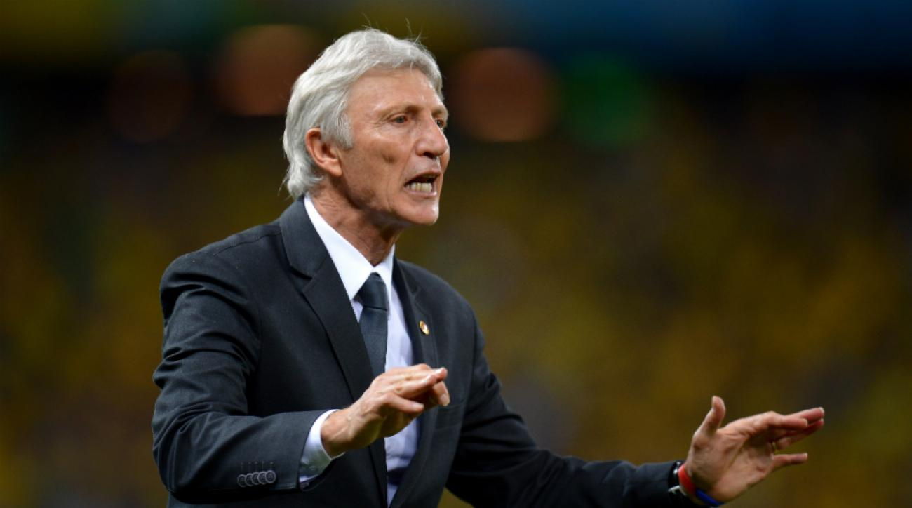 Colombia coach Jose Pekerman signs contract extension