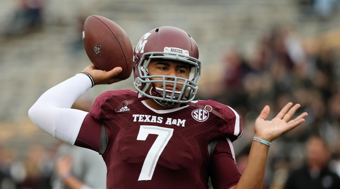 kenny hill texas a&m aggies quarterback texas a&m schedule