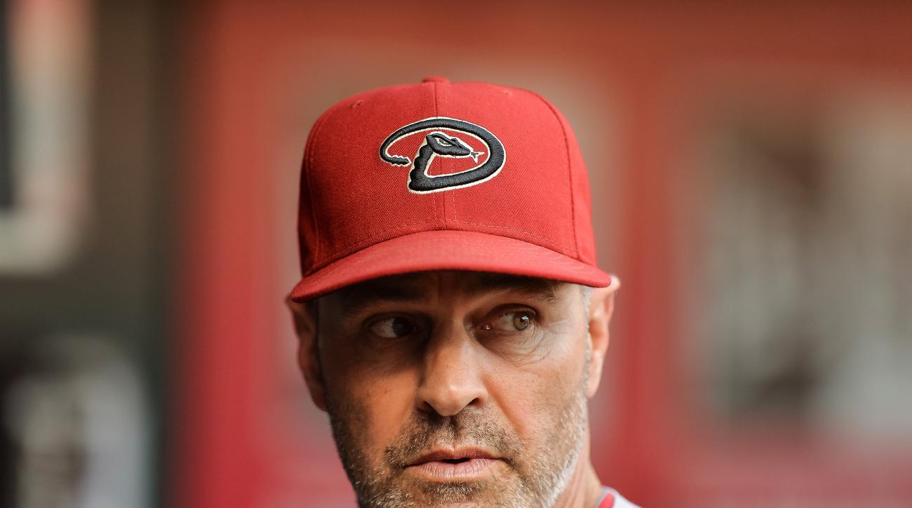 Kirk Gibson Arizona Diamondbacks manager Tony LaRussa