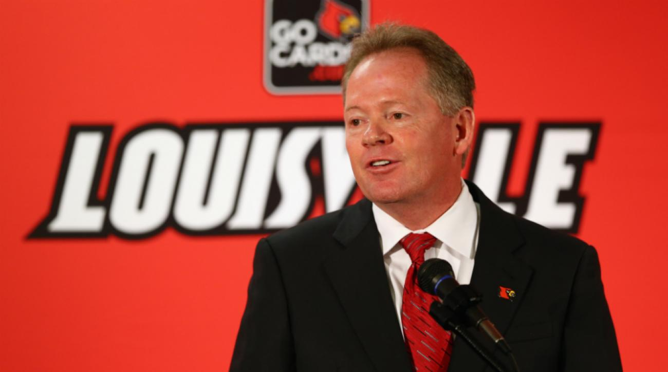 Louisville's Bobby Petrino hire consulting firm