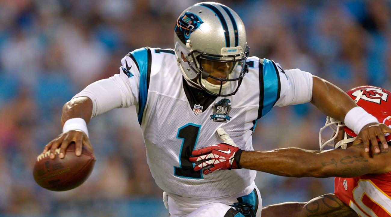 Cam Newton is recovering from an offseason ankle problem, but he appears to be good to go for the upcoming season.